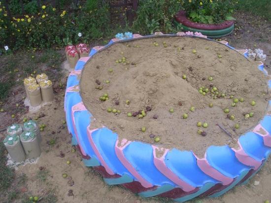 Детский сад оформление участка летом своими руками фото 122