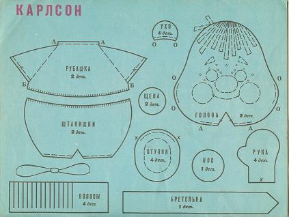 Как сделать своими руками карлсона